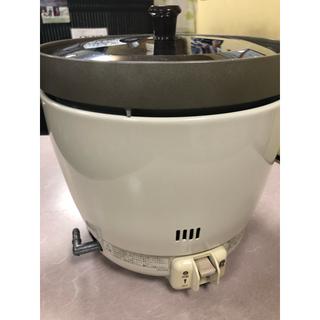 リンナイ(Rinnai)のリンナイガス炊飯器2升(3.6L)卓上型家庭用業務用(調理道具/製菓道具)