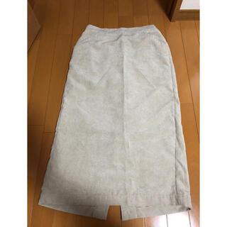 サマンサモスモス(SM2)のコーデュロイスカート(ひざ丈スカート)