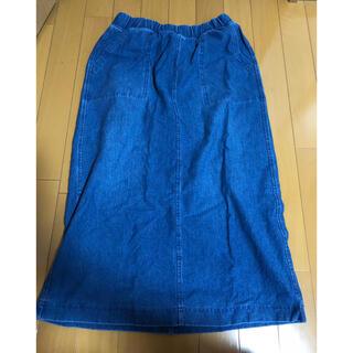 ユニクロ(UNIQLO)のタイトスカート(ひざ丈スカート)
