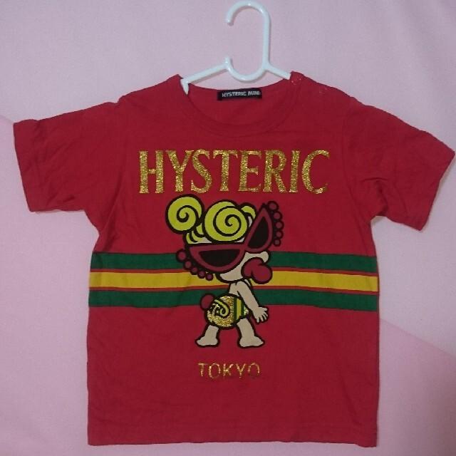 HYSTERIC MINI(ヒステリックミニ)のTシャツ キッズ/ベビー/マタニティのキッズ服男の子用(90cm~)(Tシャツ/カットソー)の商品写真