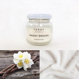 バスアンドボディーワークス(Bath & Body Works)の甘いバニラ&カシミアの香り、スイートドリーム★新品ソイアロマキャンドル(キャンドル)