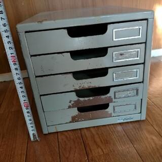 プラス(PLUS)の5段スチールレターケース(オフィス収納)