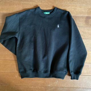 マンシングウェア(Munsingwear)のマンシングウエア スウェット M ブラック 美品 オーバーサイズ(スウェット)