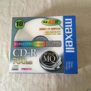 マクセル(maxell)の【新品】maxell CDーR 700MB 10枚パック(その他)