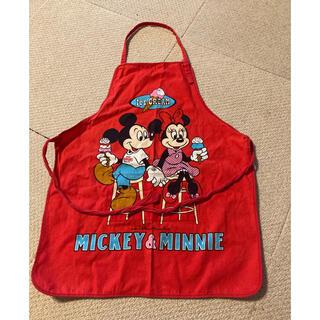ディズニー(Disney)のエプロン ミッキー&ミニー(その他)