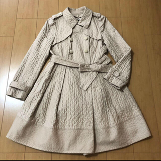TO BE CHIC - 【 TO BE CHIC 】トゥービーシック  キルト加工 トレンチコート