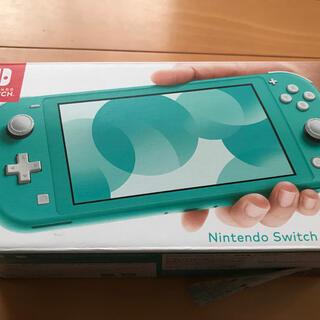 ニンテンドースイッチ(Nintendo Switch)のNintendo Switch  Lite ターコイズ スイッチ ライト 新品(家庭用ゲーム機本体)