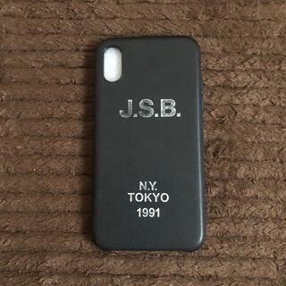 サンダイメジェイソウルブラザーズ(三代目 J Soul Brothers)の三代目JSB iPhone Xケース(iPhoneケース)