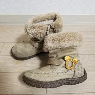 ムーンスター(MOONSTAR )のムートンブーツ キッズ 15cm(ブーツ)