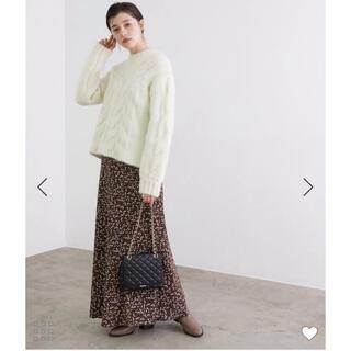 ロペ(ROPE)の新品未使用 ♡ ROPE ヴィンテージライクフラワーマーメイドスカート ♡(ロングスカート)