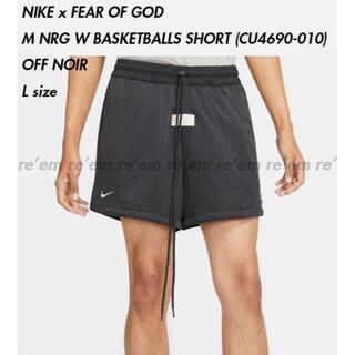 FEAR OF GOD - NIKE FEAR OF GOD バスケットボールショーツ OFF NOIR L