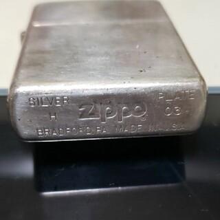 ジッポー(ZIPPO)のZippo シルバープレート silver plate  ジッポー(タバコグッズ)