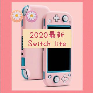 可愛い♡ガーリーピンク♡Switch lite カバー スイッチライトケース(その他)
