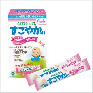 ユキジルシメグミルク(雪印メグミルク)のBean Stalk すこやかM1 ミルク(その他)