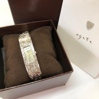 アガット バングル腕時計