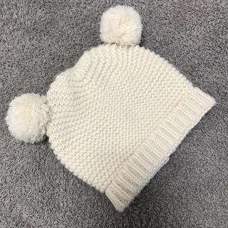 ザラキッズ(ZARA KIDS)のZARA baby ザラベビー ニット帽 くまさん 1歳 2歳(帽子)