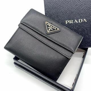 プラダ(PRADA)の❤PRADA プラダ サフィアーノ折り財布❤(折り財布)