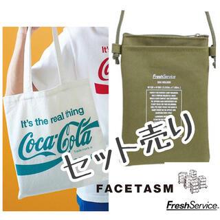 ファセッタズム(FACETASM)のフレッシュサービス サコッシュ ファセッタズム×コカコーラ エコバッグ(トートバッグ)
