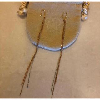 DEUXIEME CLASSE - 超美品 マリハ MARIHA 雨音のピアス pg wg yg 3色 10センチ