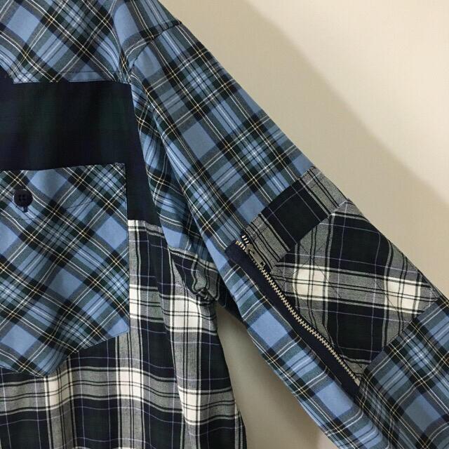 MILKBOY(ミルクボーイ)のMILKBOY ミルクボーイ レア チェックシャツ 長袖 オーバーサイズ メンズ メンズのトップス(シャツ)の商品写真