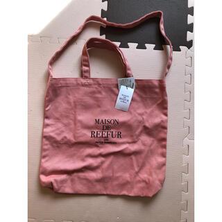 メゾンドリーファー(Maison de Reefur)のタグつき新品 メゾンドリーファー  トートバッグ 2way キャンバスバッグ(トートバッグ)
