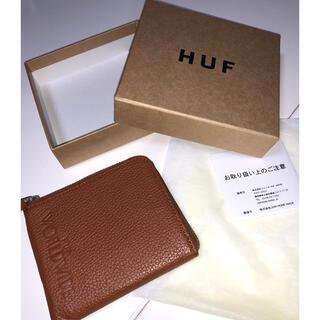 HUF - HUF 小銭入れ ZIP WALLET