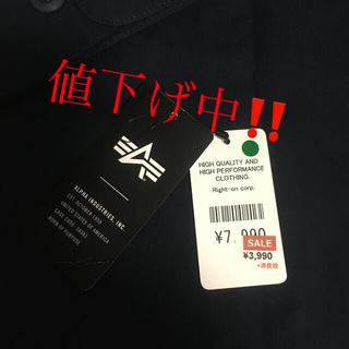 アルファインダストリーズ(ALPHA INDUSTRIES)のALPHA  U.S.ARMY ネイビーシャツ(ミリタリージャケット)