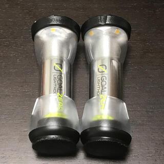 ゴールゼロ(GOAL ZERO)のゴールゼロ ライトハウスマイクロ 防塵キャップ 黒 2個セット(ライト/ランタン)