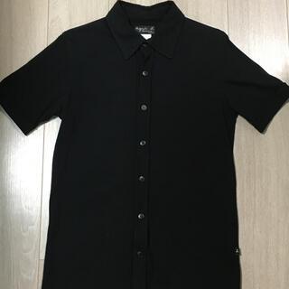 アニエスベー(agnes b.)のagnes b(アニエスべー)半袖シャツ 黒 メンズ(シャツ)