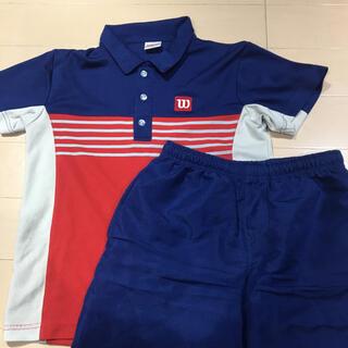 ウィルソン(wilson)のテニスゲームシャツセット 150(ウェア)