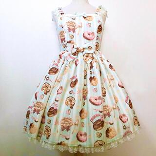 Angelic Pretty - Angelic Pretty Melty Creamドーナツジャンパースカート
