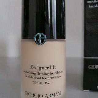 ジョルジオアルマーニ(Giorgio Armani)のジョルジオ アルマーニ デザイナー リフト ファンデーション#3(ファンデーション)