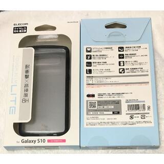 Galaxy S10 用 TOUGH SLIM LITE耐衝撃クリア780