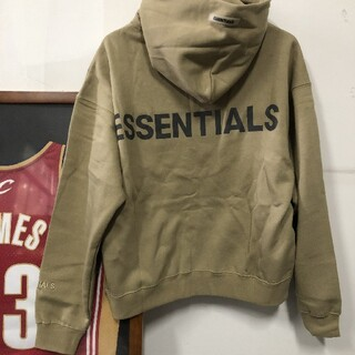 FEAR OF GOD - 【入手困難】FOG essentials パーカー  tan