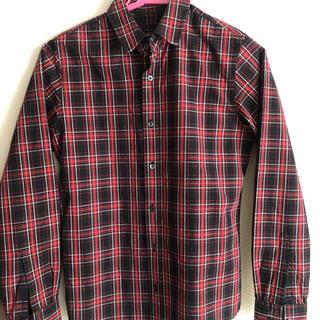 マルティニークルコント(martinique Le Conte)の赤チェックシャツ ブラウス マルティニーク (シャツ/ブラウス(長袖/七分))