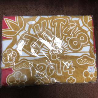 エイチケーティーフォーティーエイト(HKT48)のHKT48 2014 福袋 バスタオル 新品未開封(アイドルグッズ)
