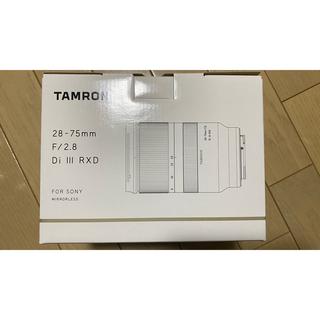タムロン(TAMRON)のタムロン 28-75mm F/2.8 Di III RXD Model A036(レンズ(ズーム))