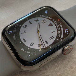 アップルウォッチ(Apple Watch)のApple watch 6 チタニウム 44mm(腕時計(デジタル))