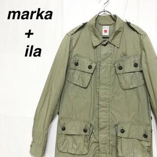 マーカ(marka)のmarka & ila マーカ ジャングルファティーグ 刺繍 ミリタリー(ミリタリージャケット)