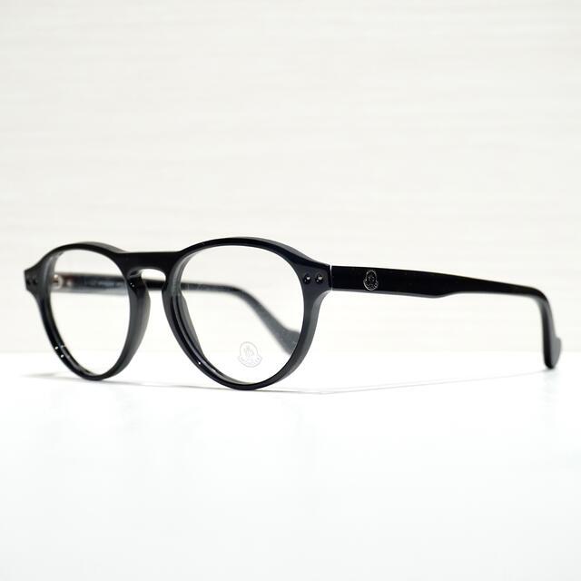 MONCLER(モンクレール)の【新品】Moncler モンクレール メガネ ML5022 ブラック 黒 メンズのファッション小物(サングラス/メガネ)の商品写真