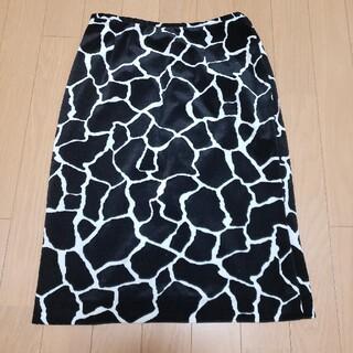 クードシャンス(COUP DE CHANCE)のクードシャンス ベロア調スカート(ひざ丈スカート)