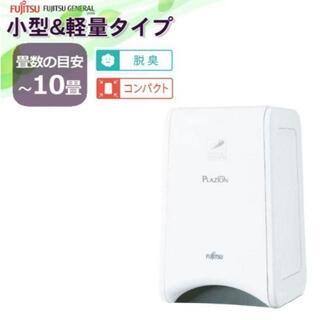 フジツウ(富士通)の新品未开封 PLAZION DAS-15K-W [ホワイト](空気清浄器)