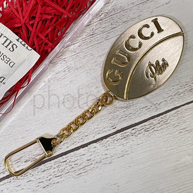Gucci(グッチ)のGUCCI Plus グッチプラス キーホルダー ビンテージブランド レディースのファッション小物(キーホルダー)の商品写真