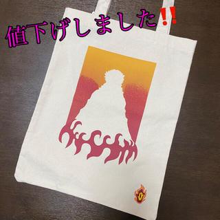 GU - GU 鬼滅の刃 コラボ 煉獄さん 煉獄杏寿郎 キャンバスバッグ トートバッグ