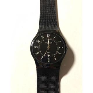 スカーゲン(SKAGEN)の【ジャンク品】SKAGEN [カービングメッシュ クオーツ(腕時計(アナログ))