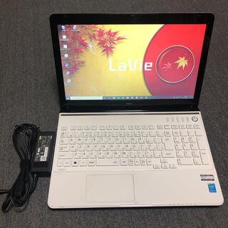 エヌイーシー(NEC)のノートパソコン NEC Lavie LS350 i5(ノートPC)
