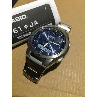 カシオ(CASIO)のCASIO wave ceptor SOLAR WVA-M640(腕時計(デジタル))