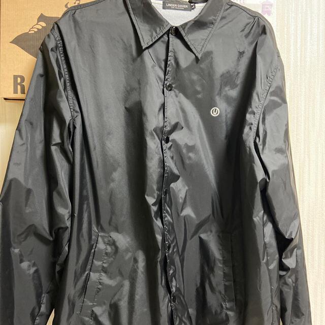 UNDERCOVER(アンダーカバー)のUNDERCOVER コーチジャケット Lサイズ メンズのジャケット/アウター(ナイロンジャケット)の商品写真