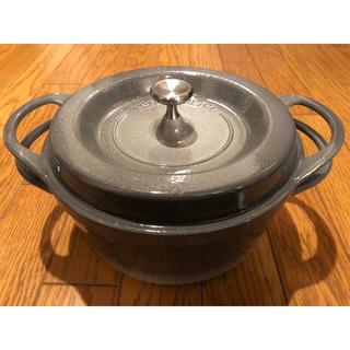 バーミキュラ(Vermicular)の新品 VERMICULAR (バーミキュラ) 鍋 22cm (鍋/フライパン)