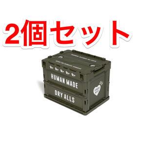 アベイシングエイプ(A BATHING APE)のヒューマンメイド コンテナ HUMAN MADE 20L OLIVE 2個セット(ケース/ボックス)
